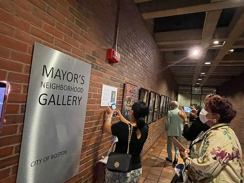 Mayor's Neighborhood Gallery Latino Pioneers Exhibit